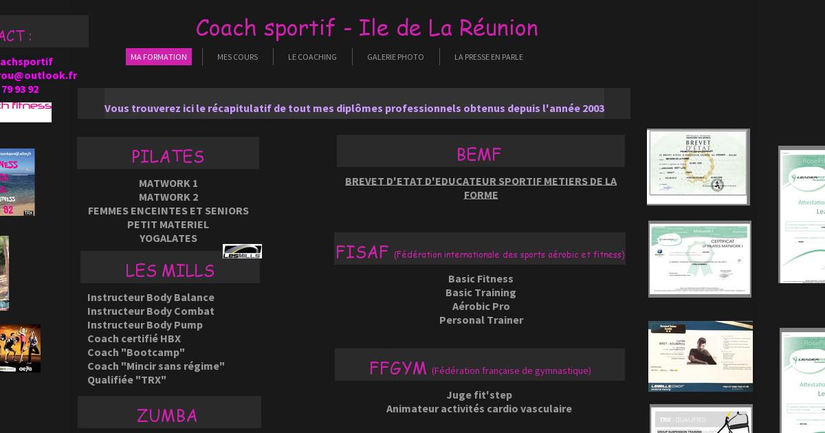 lynda coach sportif ma formation. Black Bedroom Furniture Sets. Home Design Ideas
